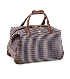 London Fog® Kensington Plaid Club Bag