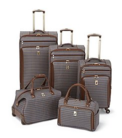 London Fog® Kensington Plaid Luggage Collection