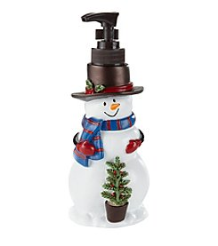 Saturday Knight, Ltd.® Woodland Snowman Lotion Pump