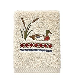 Bacova® Live Love Lake Fingertip Towel