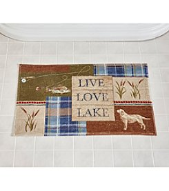 Bacova® Live Love Lake Bath Rug