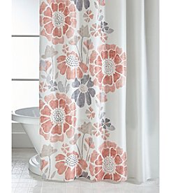 orange floral shower curtain. Bacova  Peyton Spice Floral Shower Curtain Curtains Liners Bed Bath Younkers