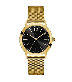 GUESS Men's Goldtone Dress Watch