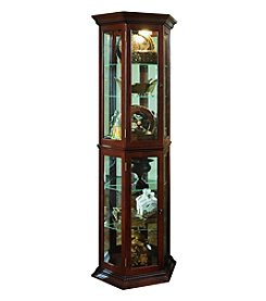 Pulaski Three-Sided Display Cabinet