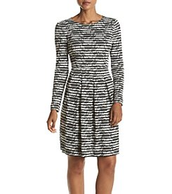 Tommy Hilfiger® Textured Fit And Flare Dress