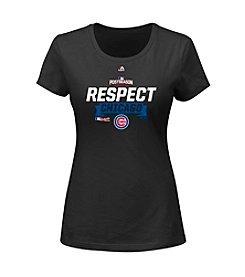 Majestic® MLB® Chicago Cubs Women's NLDS Clincher Tee