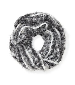 Relativity® Ombre Feather Loop Scarf