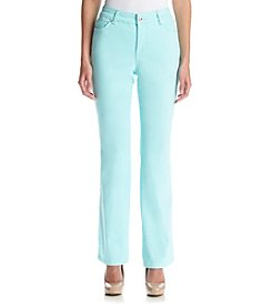 Bandolino® Petites' Mandie Colored Twill Pants