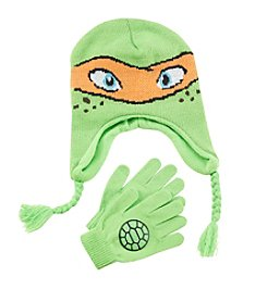 Teenage Mutant Ninja Turtles® Boys' Michelangelo Hat and Gloves Set