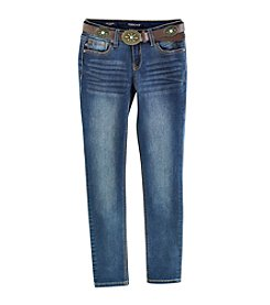 Vigoss® Girls' 7-16 Taylor Convertible Skinny Jeans