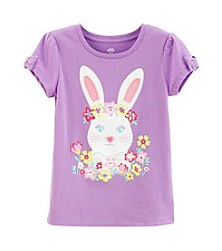 Mix & Match Girls' 2T-6X Bow Sleeve Bunny Tee