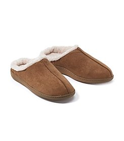 Refinery and Co. Men's Sherpa-Lined Memory Foam Slippers