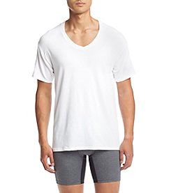 Hanes® Men's 4-Pack V-Neck Undershirts