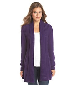 Studio Works® Petites' Open Front Cardigan