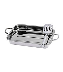 Basic Essentials 2-pc. Stainless Steel Lasagna Set