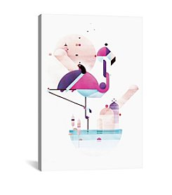 Placido Flamingo by Antony Squizzato Canvas Print