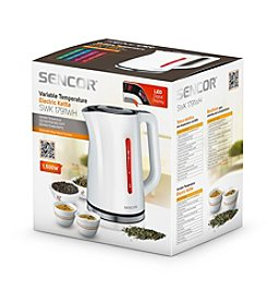 Sencor® 1.7-Liter Electric Kettle with Adjustable Temperature