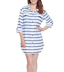 Dotti Tulum Stripe Shirt Dress