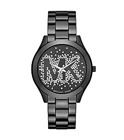 Michael Kors® Slim Runway IP Three-Hand Watch