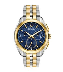 Bulova® Men's Curv Collection Two Tone Watch