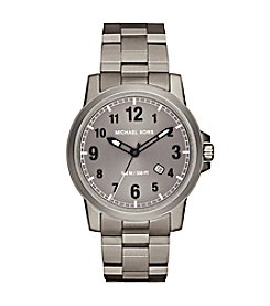 Michael Kors® Paxton Titanium Three-Hand Watch