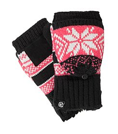 Isotoner® Signature Womens Frosty Flip Top Gloves