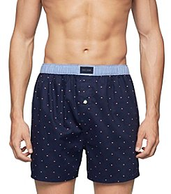 Tommy Hilfiger® Men's Classic Navy Dot Knit Boxers