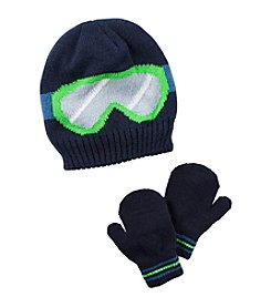 Carter's® Boys' Ski Goggles Hat and Mittens Set