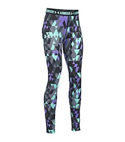 Under Armour® Girls' 7-16 HeatGear® Armour Printed Leggings