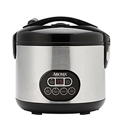 Aroma® 6-cup Cool-Touch Digital Rice Cooker and Food Steamer