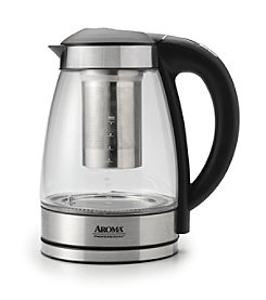 Aroma® Professional 1.7-Liter Digital Electric Kettle with Tea Infuser