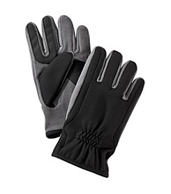Isotoner Signature® Men's Ultradry Stretch Poly Twill Gloves