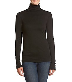 Splendid® Rib Turtleneck Top