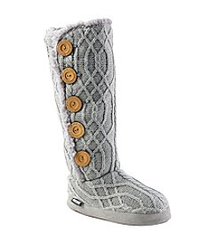 MUK LUKS Lodge Cable Boot Slippers