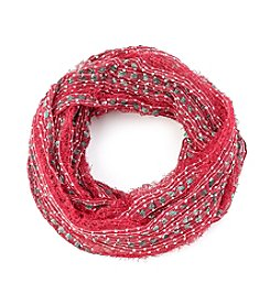 Collection 18 Christmas Ombre Loop Scarf