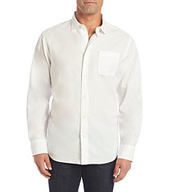 Paradise Collection® Men's Long Sleeve Button Down Linen Shirt
