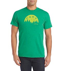 Locally Grown Clothing Co. Men's Green Camp Tee Shirt