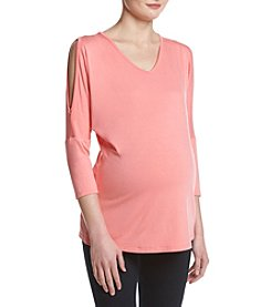 Three Seasons Maternity™ Open Shoulder Top