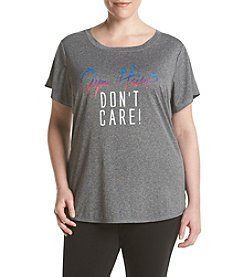 Exertek® Plus Size Don't Care Tee