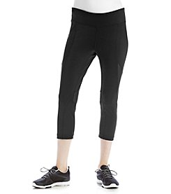 Exertek® Petities' Mesh Cropped Pants
