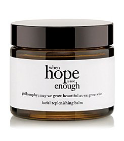 philosophy® When Hope Is Not Enough Facial Replenishing Balm