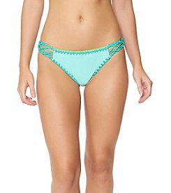 Jessica Simpson Side Braid Bikini Bottoms
