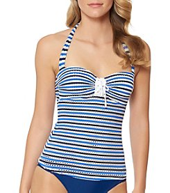 Jessica Simpson Striped Tankini