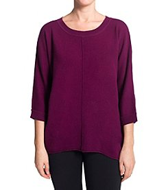 Premise Cashmere® Hi-Low Sweater