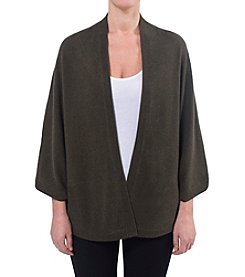 Premise Cashmere® Jersey Open Front Cardigan