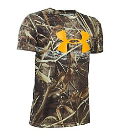 Under Armour® Boys' 8-20 Camo Graphic Tee