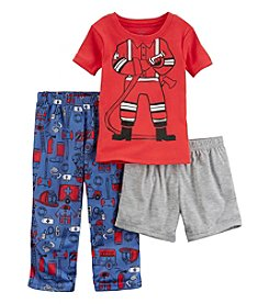 Carter's® Boys' 2T-12 3-Piece Fireman Pajama Set