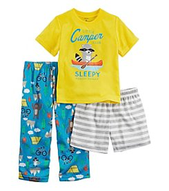 Carter's® Boys' 2T-12 3-Piece Little Camper Pajama Set