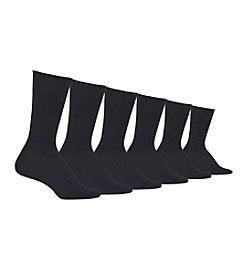 Polo Ralph Lauren® 6-Pack Lightweight Rolltop Trouser Socks