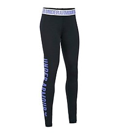 Under Armour® Girls' 7-16 Favorite Campus Novelty Leggings